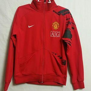 Nike MEDIUM Manchester United Full Zip Sweater